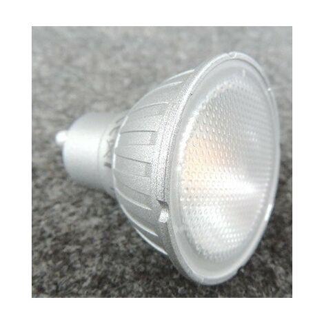 Ampoule LED 7W blanc chaud 2800K 500lm culot GU10 230V 40° Dimmable (intensité variable) MEGAMAN MM06364