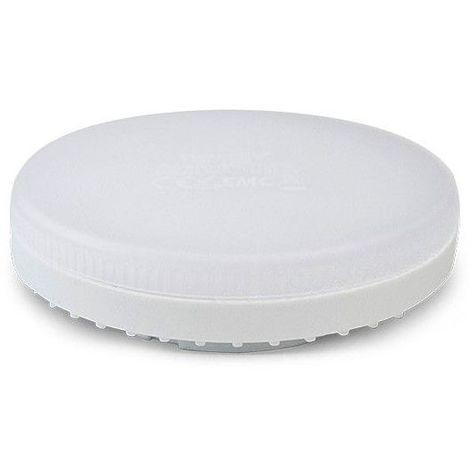 Ampoule LED 8W (70W) GX53 Blanc chaud 2700°K dépoli blanc