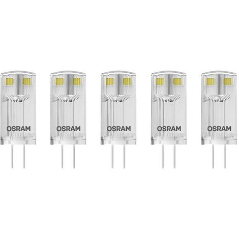 Ampoule LED à broches G4 0.9 W = 10 W blanc chaud X187671