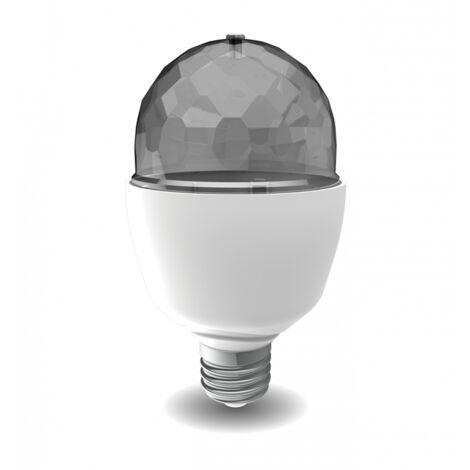 Ampoule LED A60, culot E27, 3,2W cons. (N.C eq.), lumière RVB motorisée | Xanlite