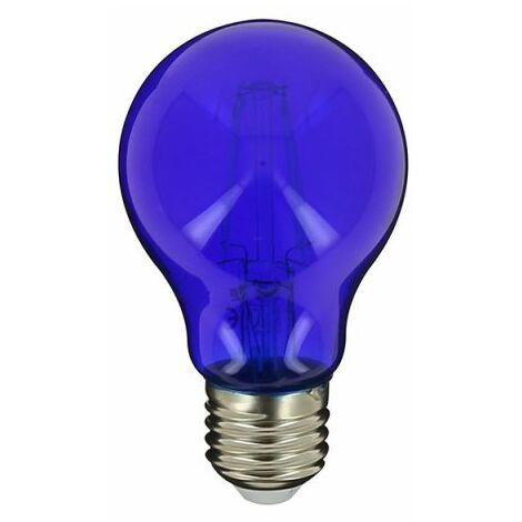 Ampoule LED A60, culot E27, 3,8W cons. (N.C eq.), lumière Lumière bleue | Xanlite