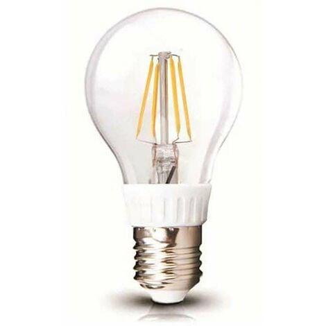 Ampoule LED A60 Filament 4W E27 Blanc du Jour 6000K