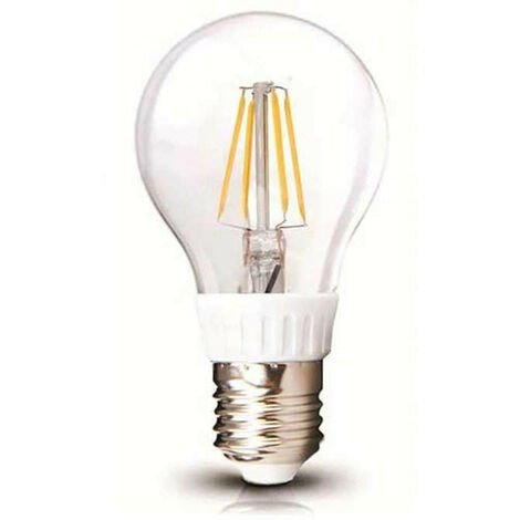 Ampoule LED A60 Filament 6W E27 Blanc Jour 6000K