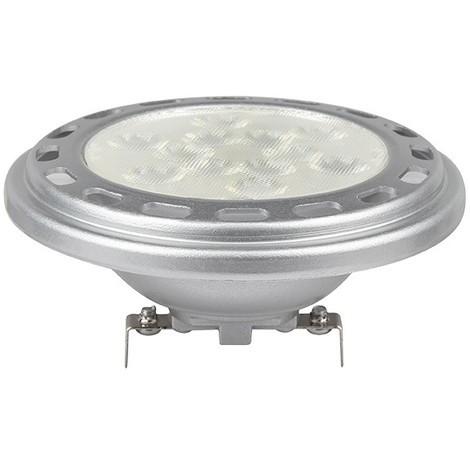 Ampoule LED AR111 (culot G53) 12W COB 38° | blanc-chaud-3000k - non-dimmable