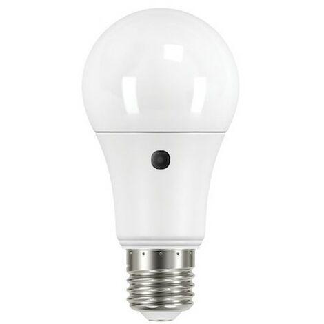 Ampoule LED Avec détecteur crépusculaire E27 - 9,5W- 2700K - 806lm - Non dimmable