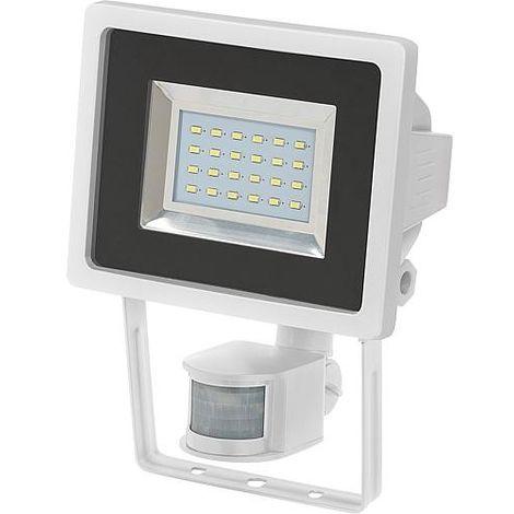 ampoule LED avec detecteur de mouvement L DN 2405 IP44 couleur blanc