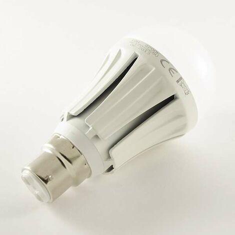 Ampoule LED B22 10W 850lm Ronde A60 - Blanc Chaud 3000K