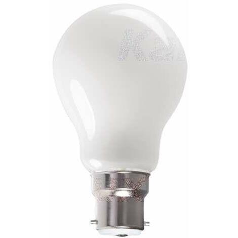 """main image of """"Ampoule LED B22 10W A60 équivalent à 100W - Blanc Chaud 2700K"""""""