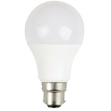 AMPOULE LED B22 - 10W- équivalence 60W - 806lm - 2700K - 200°- 30000H-230V- NON VARIABLE
