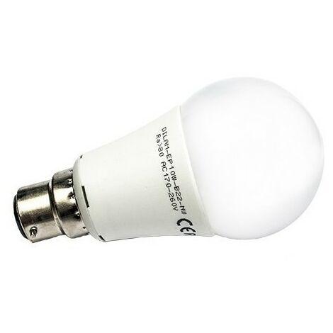 Ampoule LED B22 - 10W - SMD Epistar - A60