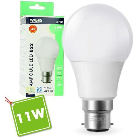 Ampoule LED B22 11W 2700K Eq 90W