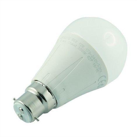 Ampoule led B22 12 watt (eq. 75 watt) - Couleur - Blanc froid 6500°K