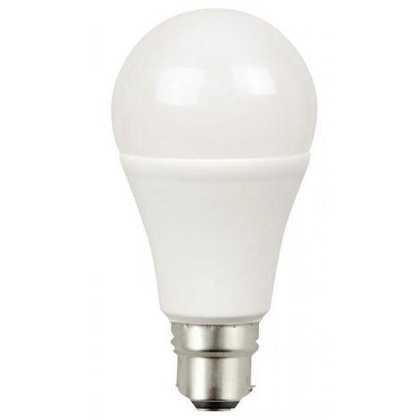 AMPOULE LED B22 -12W- équivalence 75W - 1055lm - 2700K - 200°- 30000H-230V- DIMMABLE