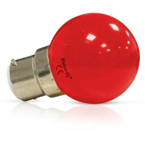 Ampoule LED B22 1W G45 Incassable Vision-EL