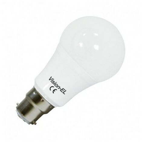 Ampoule LED B22 Bulb blanc chaud 12W (110W) 3000°K