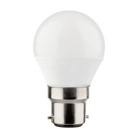 Ampoule LED B22d Müller Licht 400318 5.5 W = 40 W blanc chaud (Ø x L) 45 mm x 81 mm 1 pc(s)