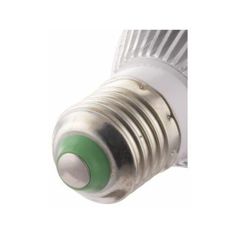 Ampoule LED bulbe douille E27, 7W 230V, blanc chaud