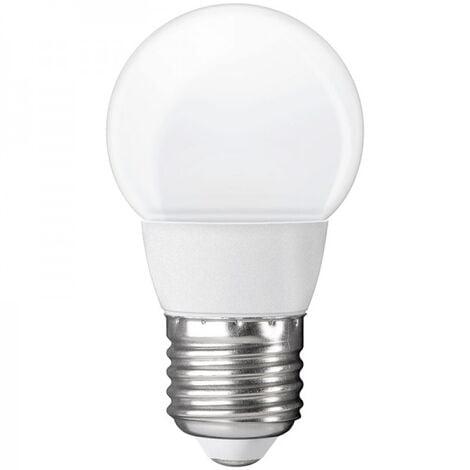 Ampoule LED bulbe E27, 3W 12V-24V AC/DC, blanc chaud, 3500°K