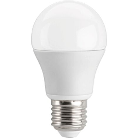 "main image of ""Ampoule LED bulbe E27, 9W 12V DC, blanc chaud"""
