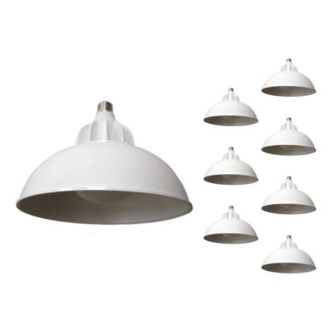 Ampoule LED Cloche E27 50W 220V 120° (Pack de 8)
