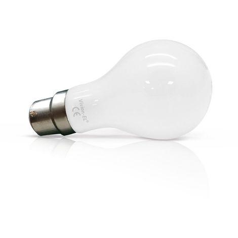Ampoule LED COB FILAMENT 10W (90W) B22 Blanc chaud 2700°K Bulb dépoli