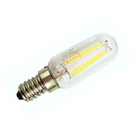 Ampoule LED COB spéciale Frigo et Hotte 4W (35W) E14 Blanc chaud 3000°K