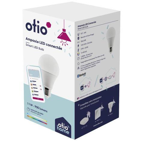 Ampoule LED connectée 7W, 9W, 11W - Otio