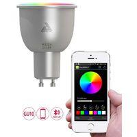 Ampoule LED connectée couleurs GU10 - AwoX Mesh Technology