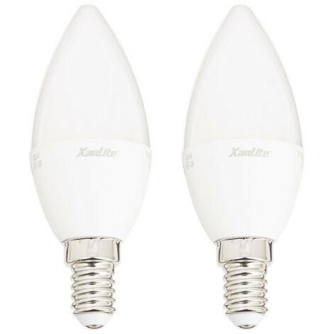 Ampoule LED , culot E14, 7W cons. (60W eq.), lumière blanc neutre | Xanlite