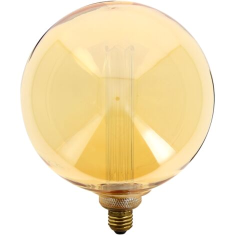 Led Ampoule Ambré Culot Déco GlobegiantVerre E27 Hologramme uOTXkilwPZ