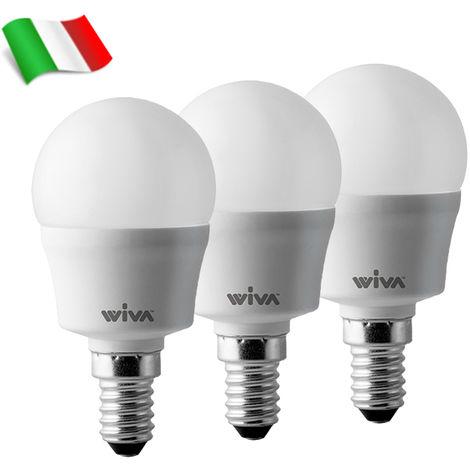 Ampoule LED E14 P45 7W 6000K° Wiva - Paquet de 3 Ampoules