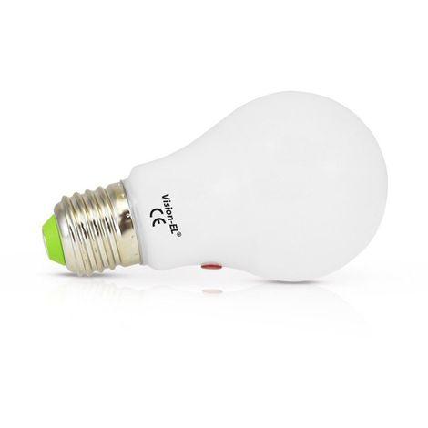 Ampoule LED E27 10W Bulb + Détecteur crépusculaire