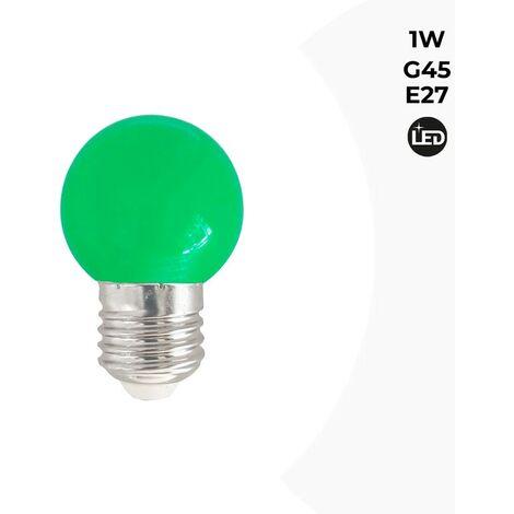 1w CouleursVert E27 Led B1312 Ampoule Ve TlJF1Kuc3