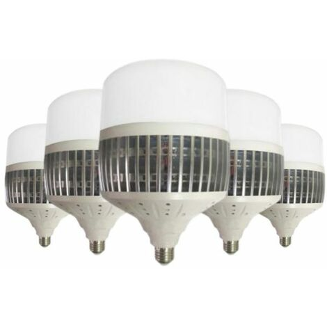 Ampoule LED E27 200W 220V 270° (Pack de 5)