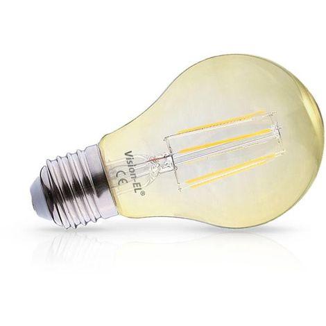 Ampoule LED E27 6W COB Filament Bulb Golden (Dimmable en option)