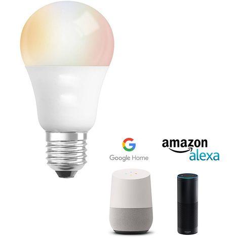 Ampoule LED E27 6W RGB-WW Intelligente | RGB-WW