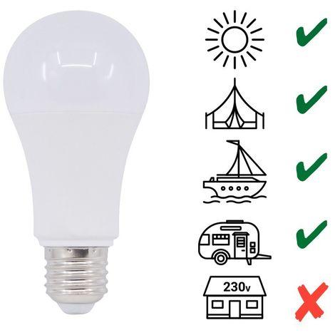 Ampoule LED E27 7W 10V / 36V