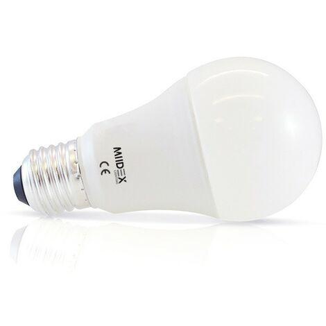Ampoule LED E27 7W Bulb + Batterie de sécurité 3H | blanc-froid-6000k - non-dimmable