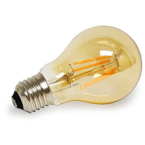 Ampoule LED E27 A60 4W Série Vintage Gold Dimmable | Blanc Extra Chaud +