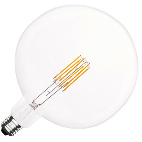 Ampoule LED E27 Dimmable Filament Big Suprême G200 6W Blanc Chaud 2000K - 2500K - Blanc Chaud 2000K - 2500K