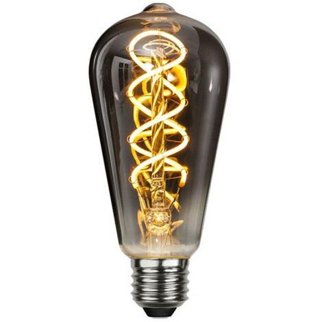 Ampoule LED E27 filament 4W Verre fumé dimmable