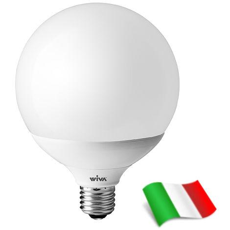 Ampoule LED E27 G120 24W 3000K° Wiva