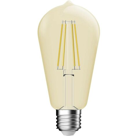 Ampoule LED E27 Nordlux Classic ST64 2080052758 5.4 W = 34 W or (Ø x L) 64 mm x 140 mm 1 pc(s)