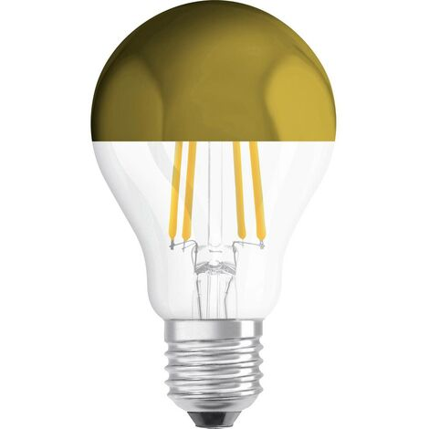 Ampoule LED E27 OSRAM 4058075114616 7 W = 54 W blanc chaud (Ø x L) 60 mm x 105 mm 1 pc(s)