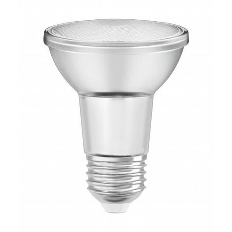 Ampoule LED E27 PAR20 36° verre dimmable 5 watt (eq. 50 watt) E27 blanc chaud