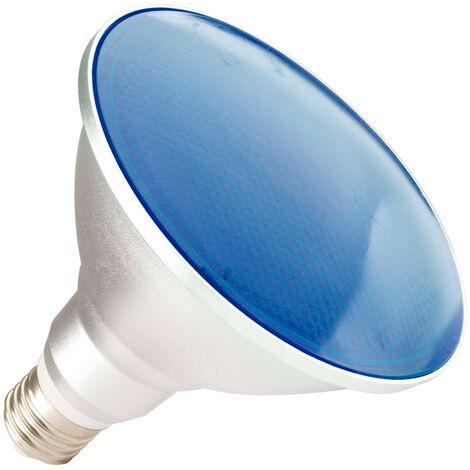 E27 9588 Waterproof Led Bleue Ip65 Lumière 4147 15w Ampoule Par38 Bleu VzUSMp