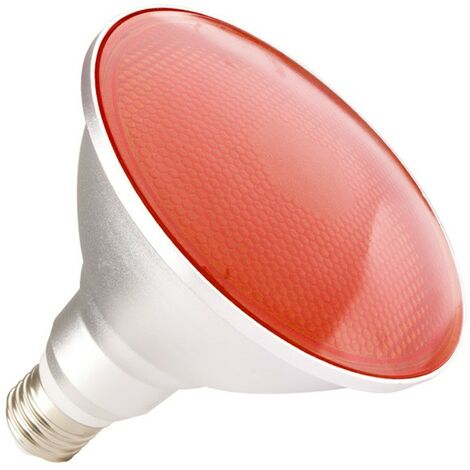 Ampoule LED E27 PAR38 15W Waterproof IP65 Lumière Rouge Rouge - Rouge