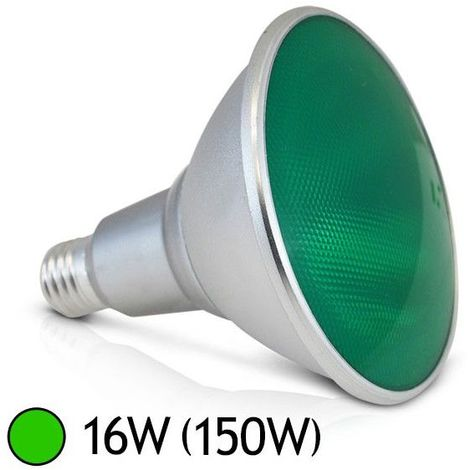 Ampoule LED E27 PAR38 16W Couleur
