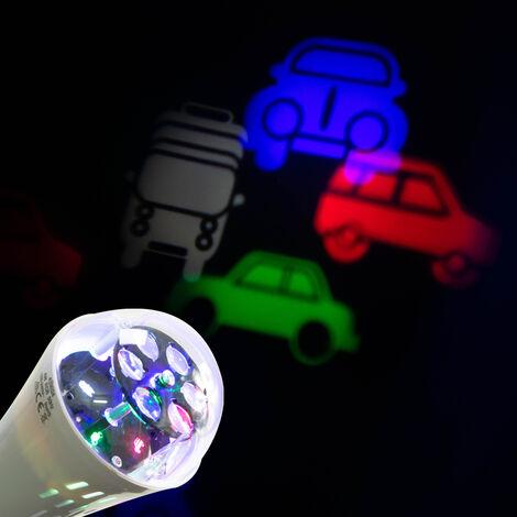 Ampoule LED E27 projection motifs voitures Eclairage pour enfants