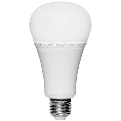 100w Rgbcct Led 12w E27 Pilotable Éclairage Ampoule Télécommande vwmnN80